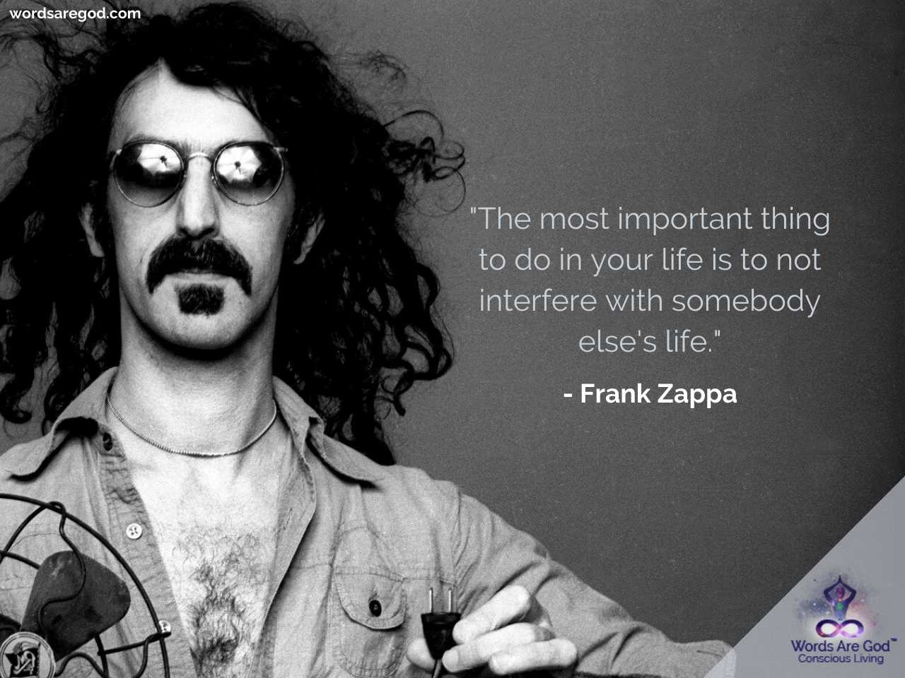Frank Zappa Life Quote by Frank Zappa