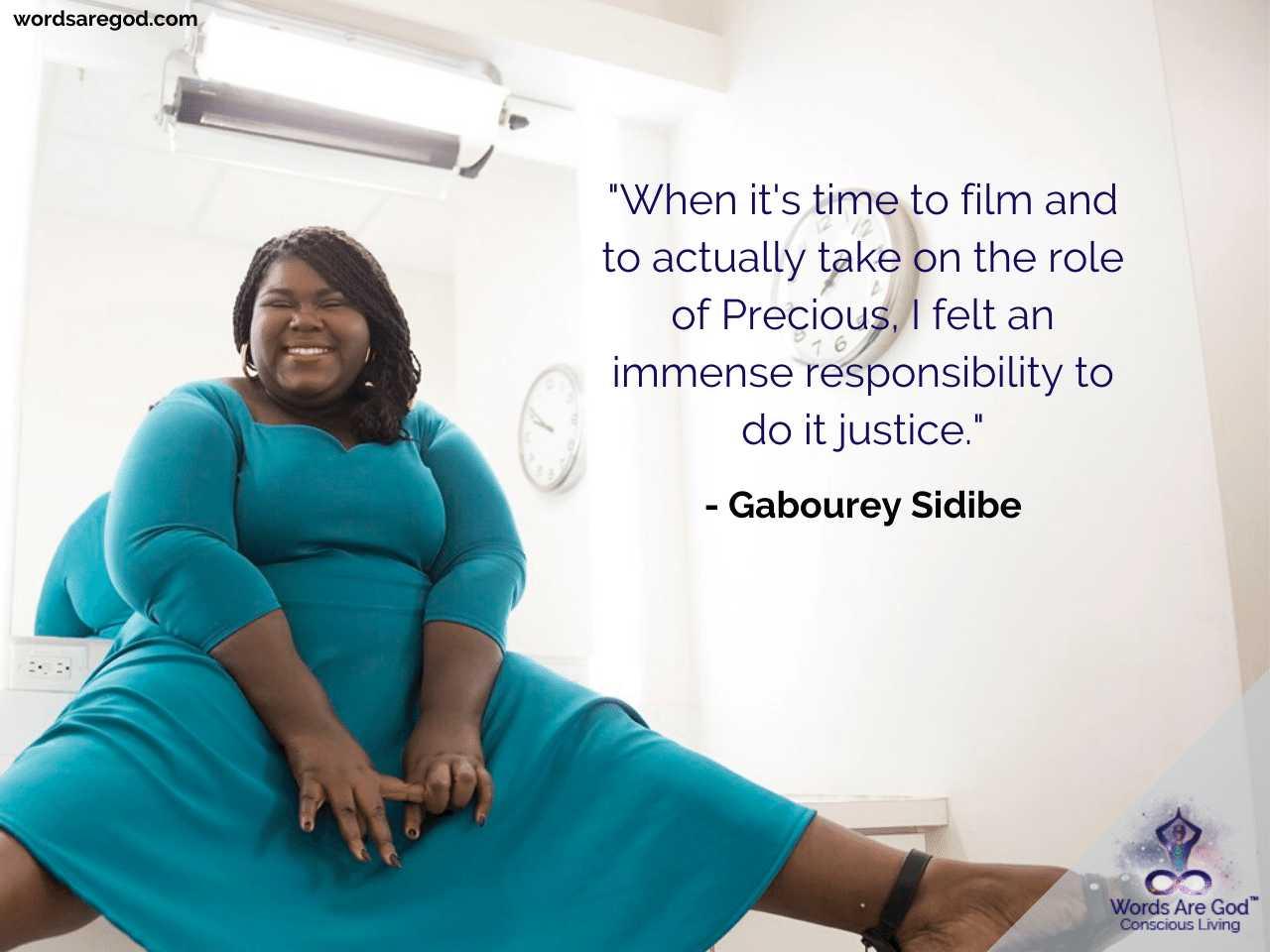 Gabourey Sidibe Best Quote by Gabourey Sidibe