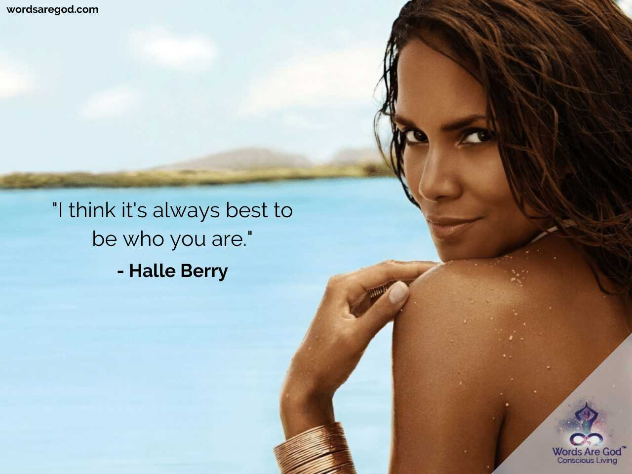 Halle Berry Life Quotes