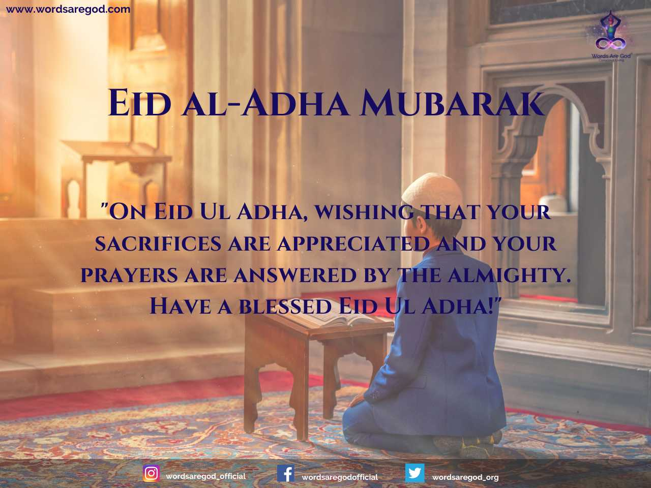 Happy Eid-Al-Adha 2020 by Events and Festival