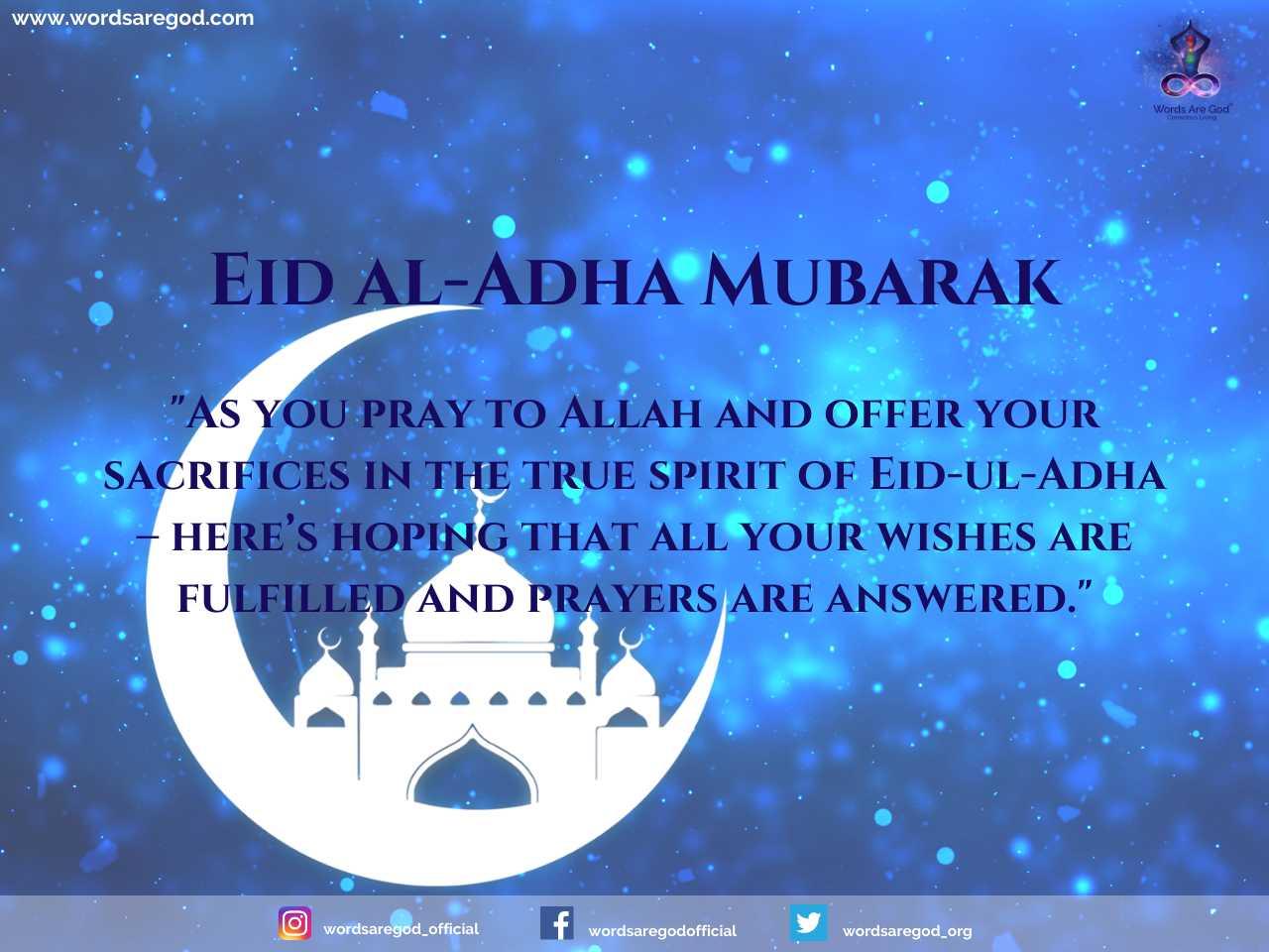 Happy Eid-Al-Adha 2021
