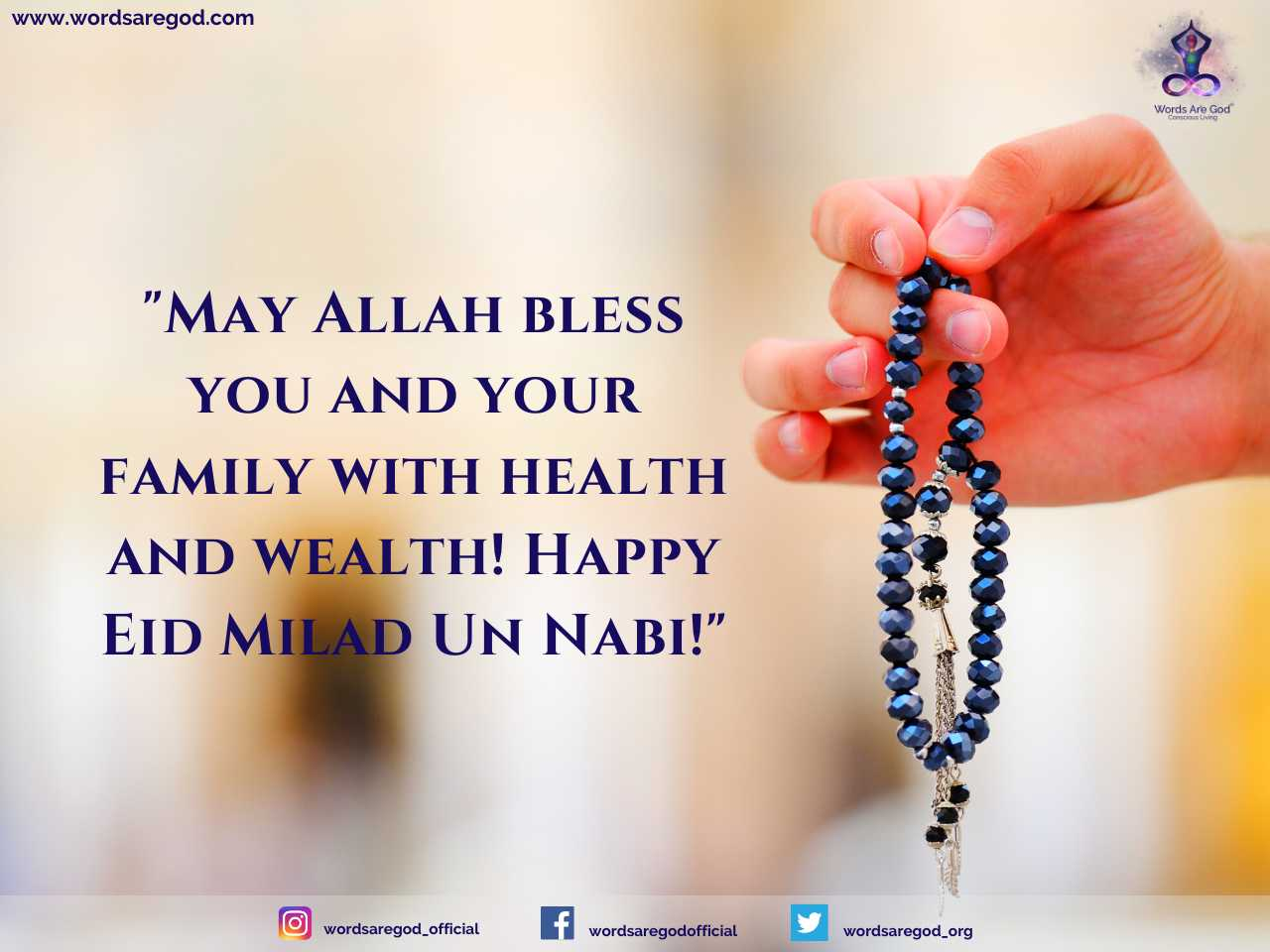 Happy Eid Milad-Un-Nabi by Events and Festival
