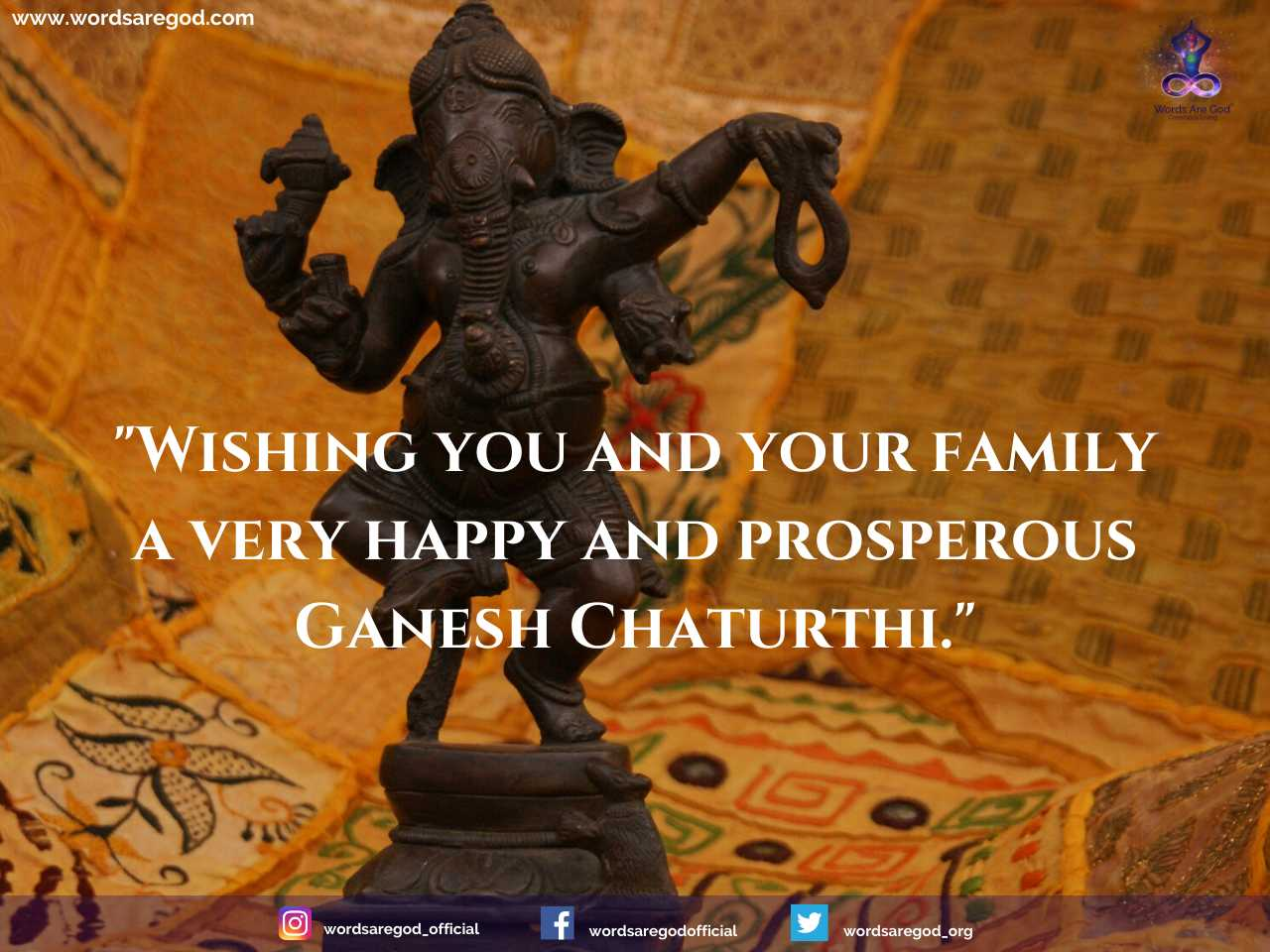 Happy Ganesh Chaturthi by Events and Festival