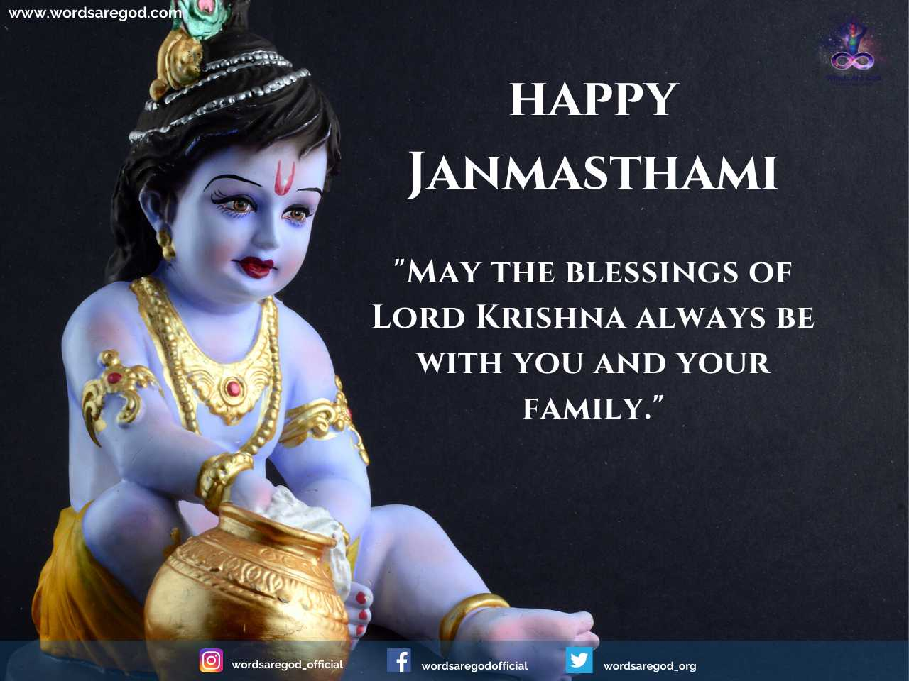 Happy Janmasthami 2022 by Events and Festival