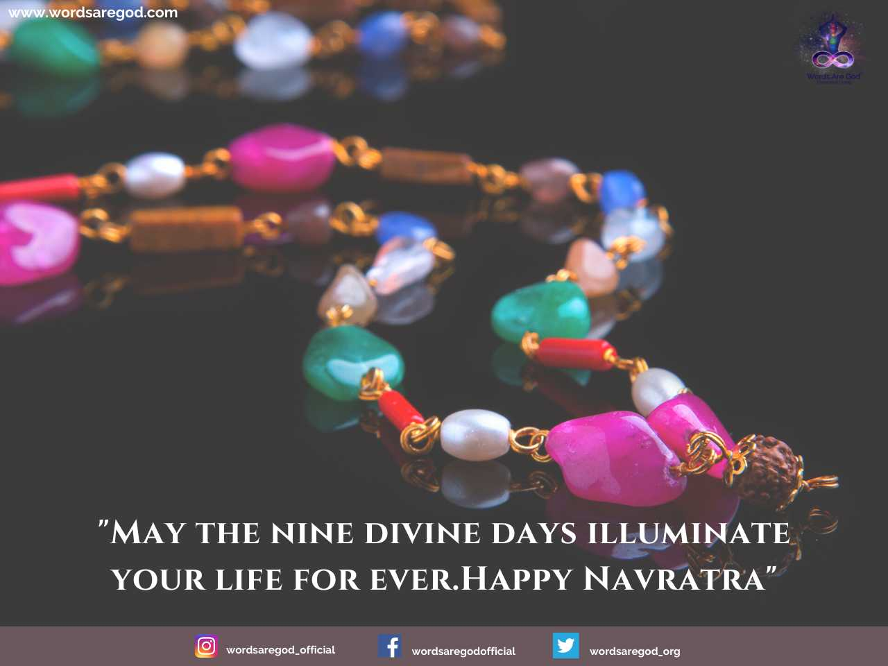 Happy Navratri by Events and Festival