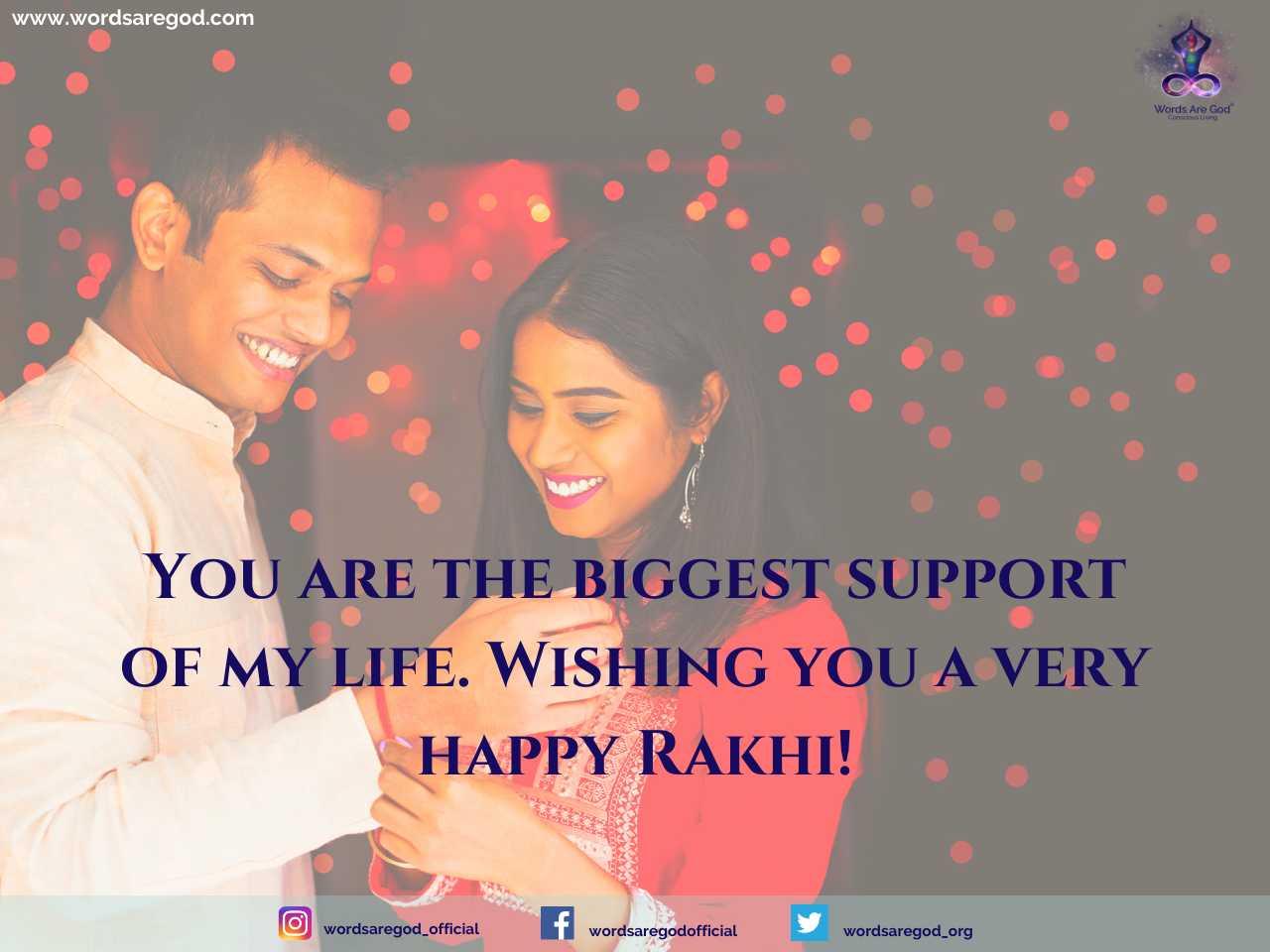 Happy Raksha Bandhan 2022 by Events and Festival