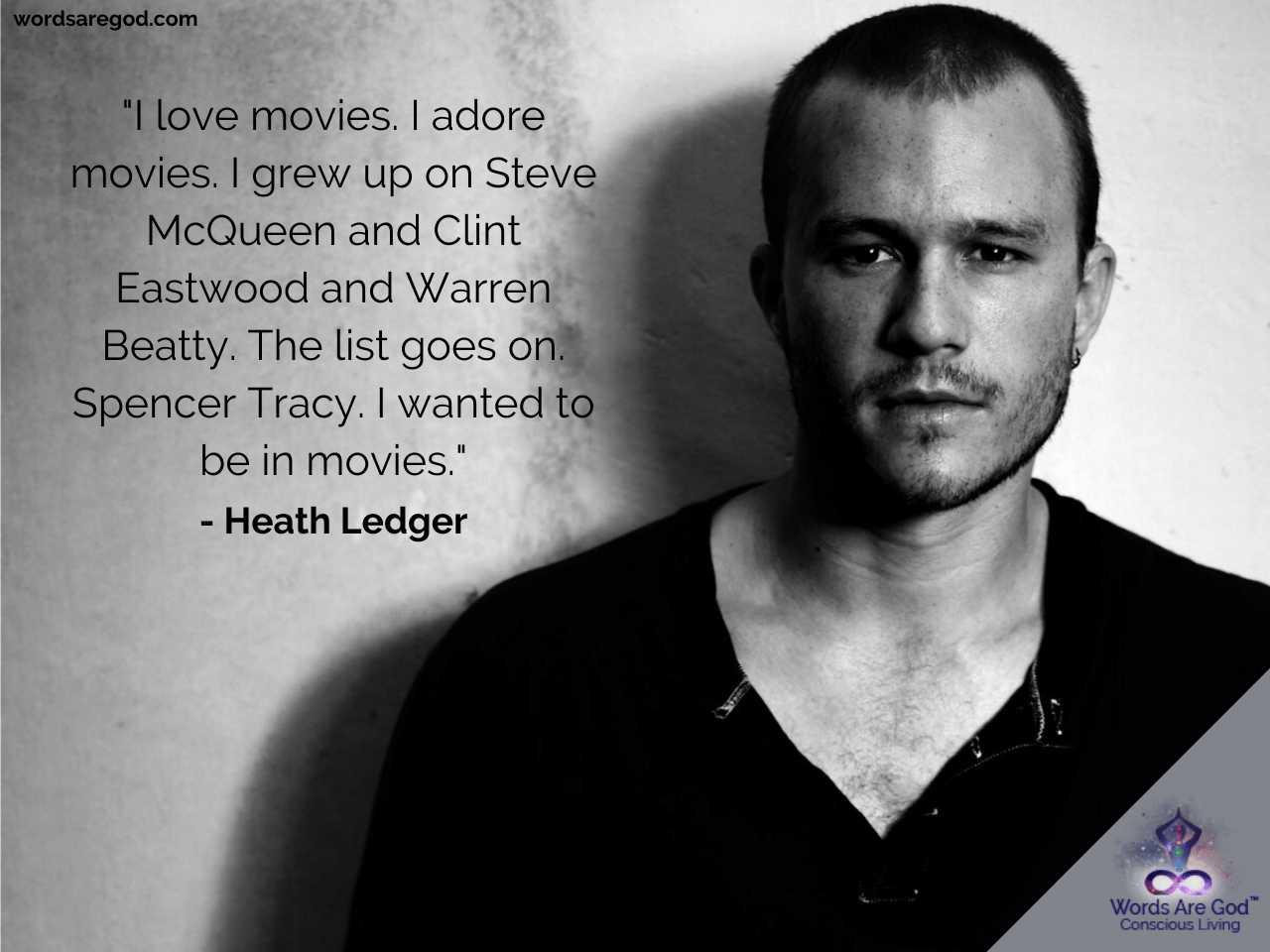 Heath Ledger Best Quotes