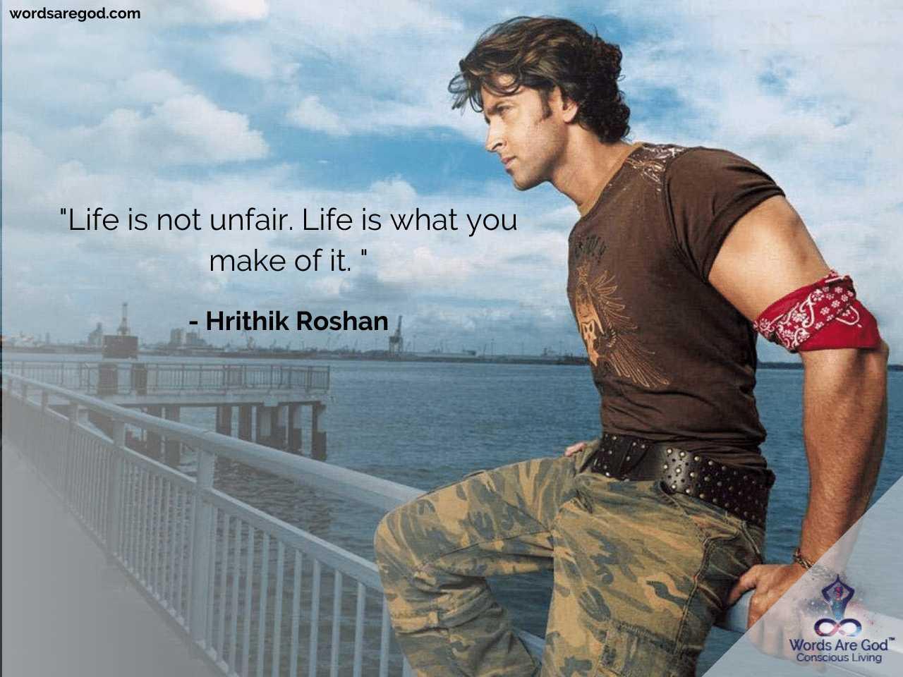 Hrithik Roshan Best Quotes
