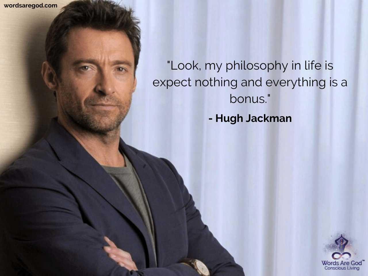 Hugh Jackman Inspirational Quotes