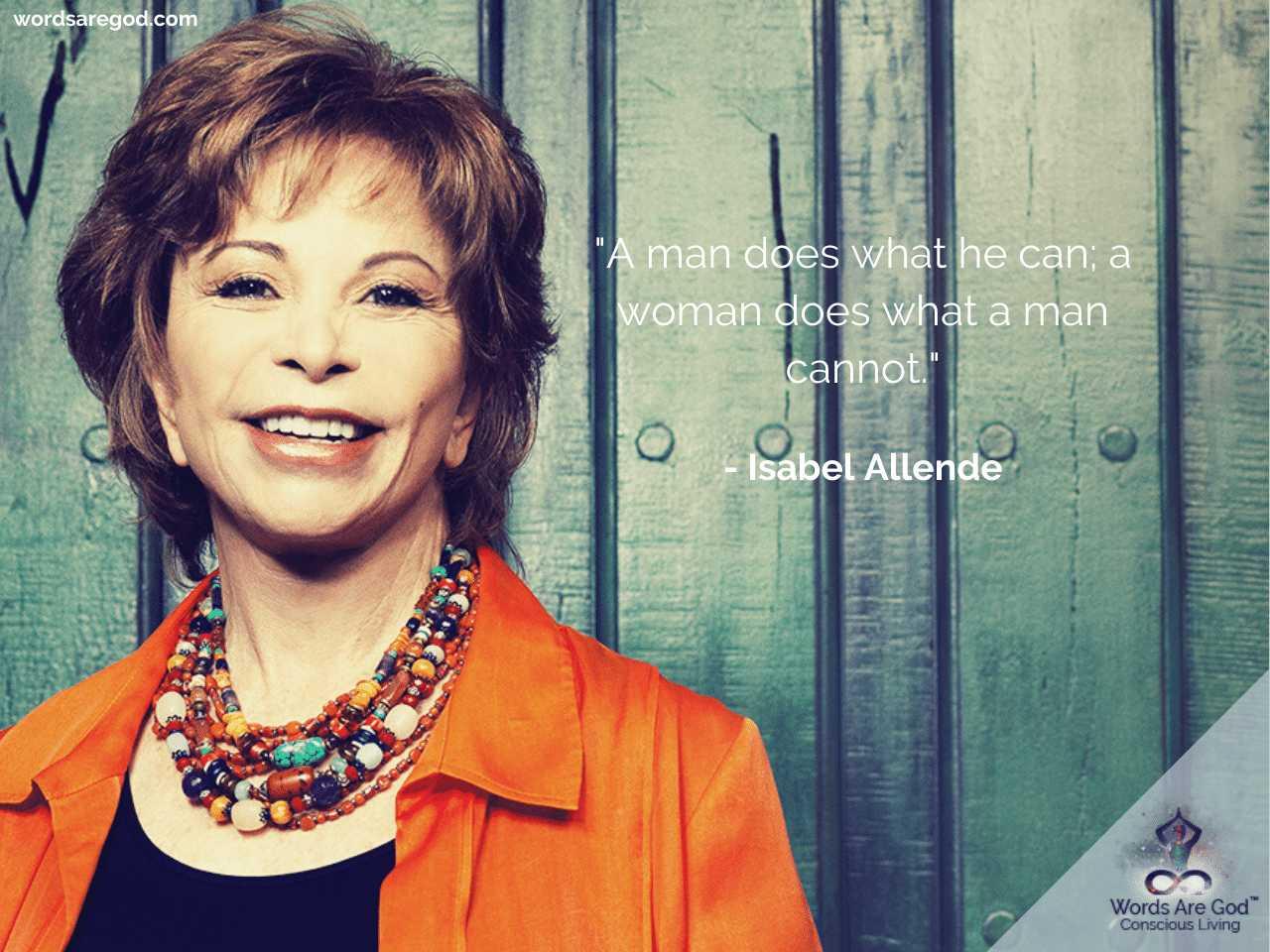 Isabel Allende Best Quotes