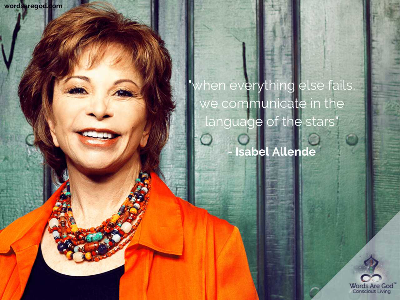 Isabel Allende Life Quotes