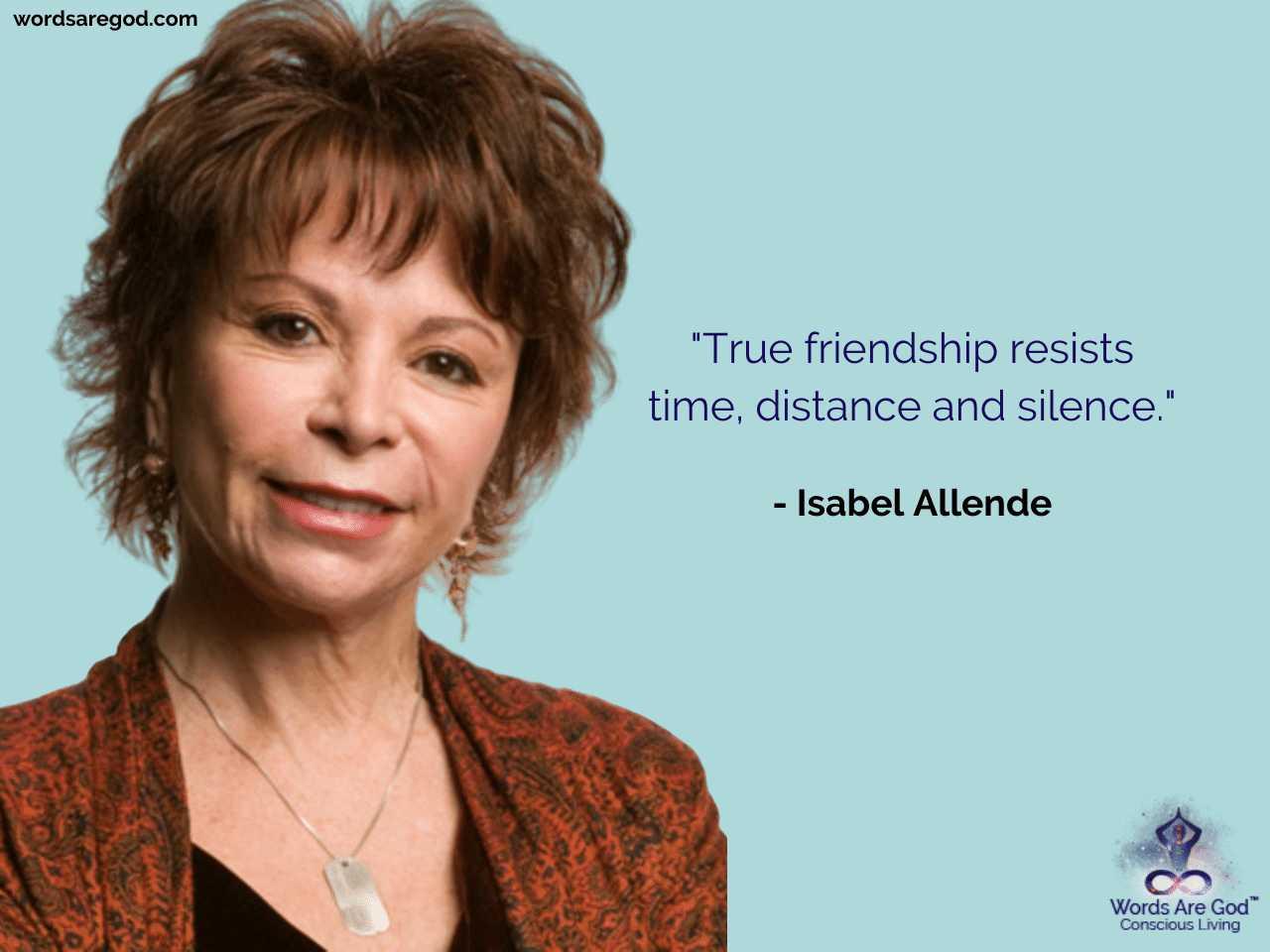 Isabel Allende Motivational Quotes