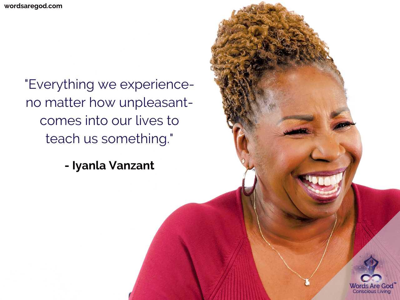 Iyanla Vanzant Inspirational Quotes