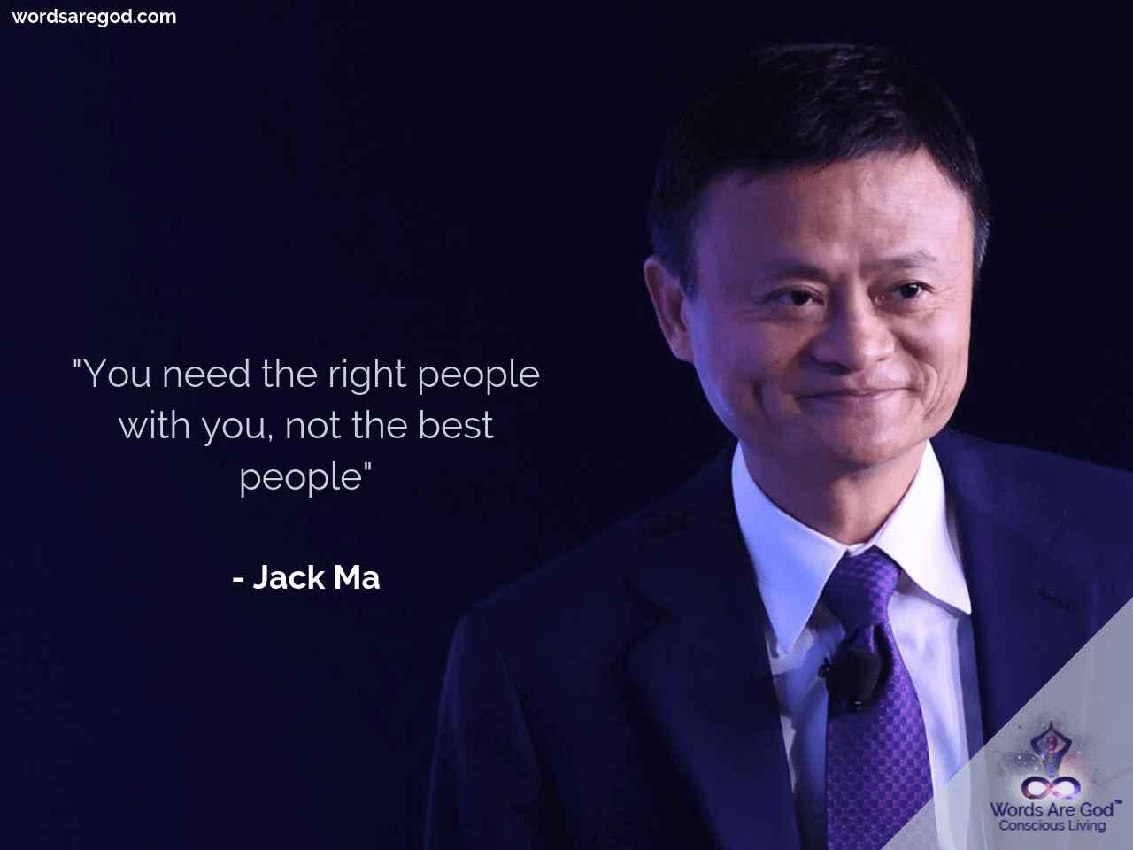 Jack Ma Inspirational Quote by Jack Ma
