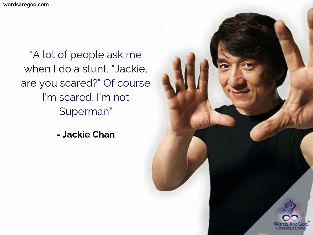 Jackie Chan Best Quote