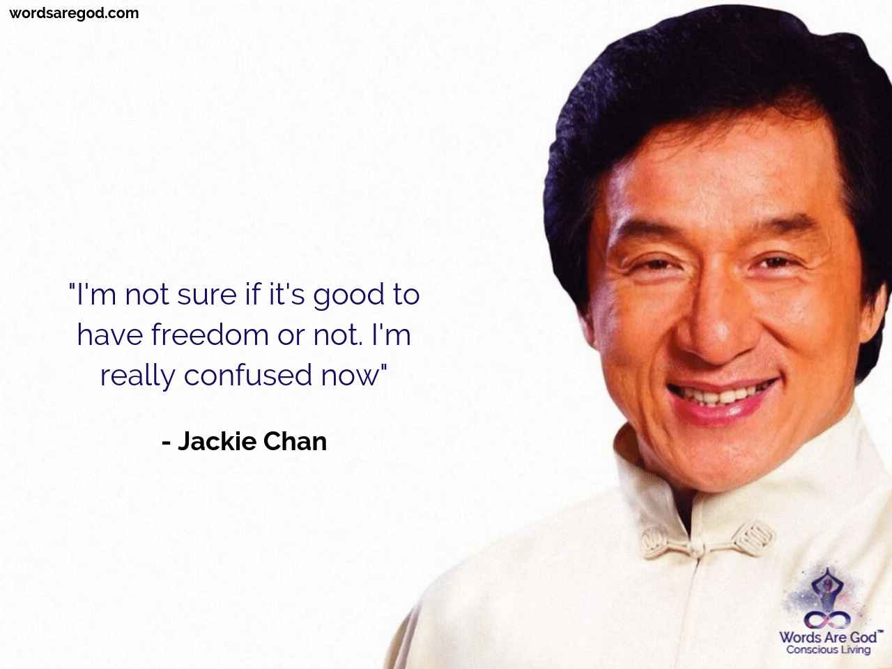 Jackie Chan Life Quote