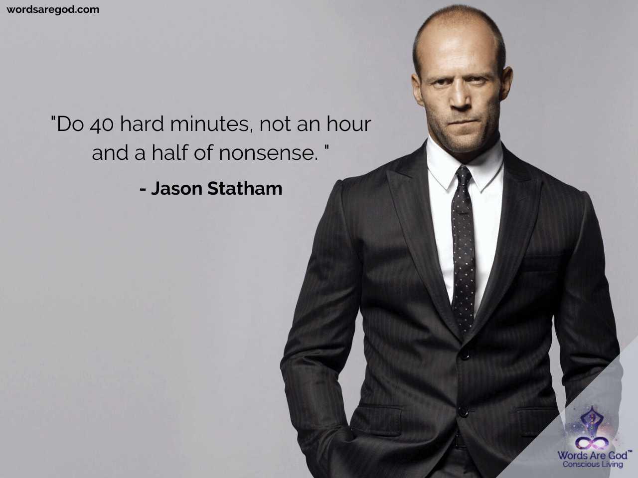 Jason Statham Best Quotes by Jason Statham