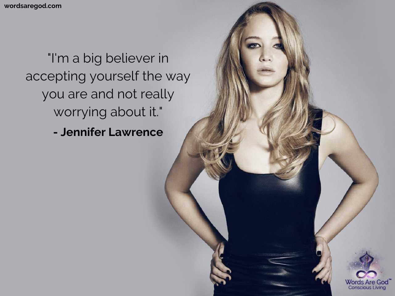 Jennifer Lawrence Best Quotes by Jennifer Lawrence