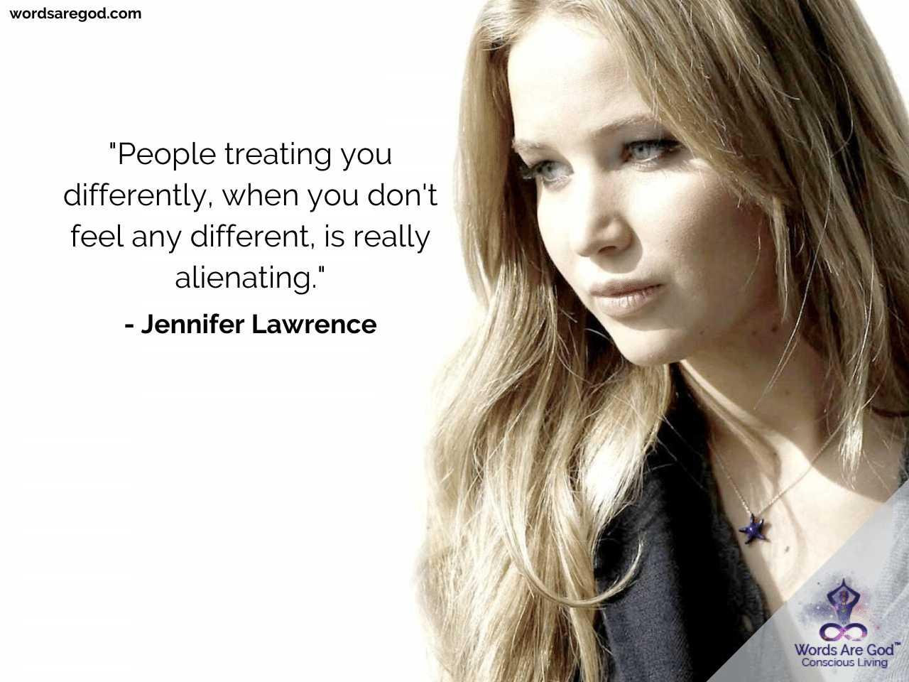 Jennifer Lawrence Life Quotes by Jennifer Lawrence