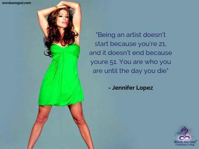 Jennifer Lopez Best Quotes