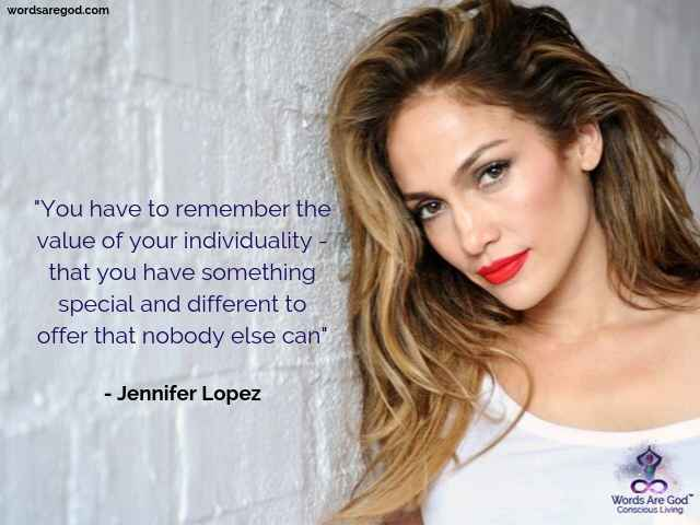 Jennifer Lopez Music Quote