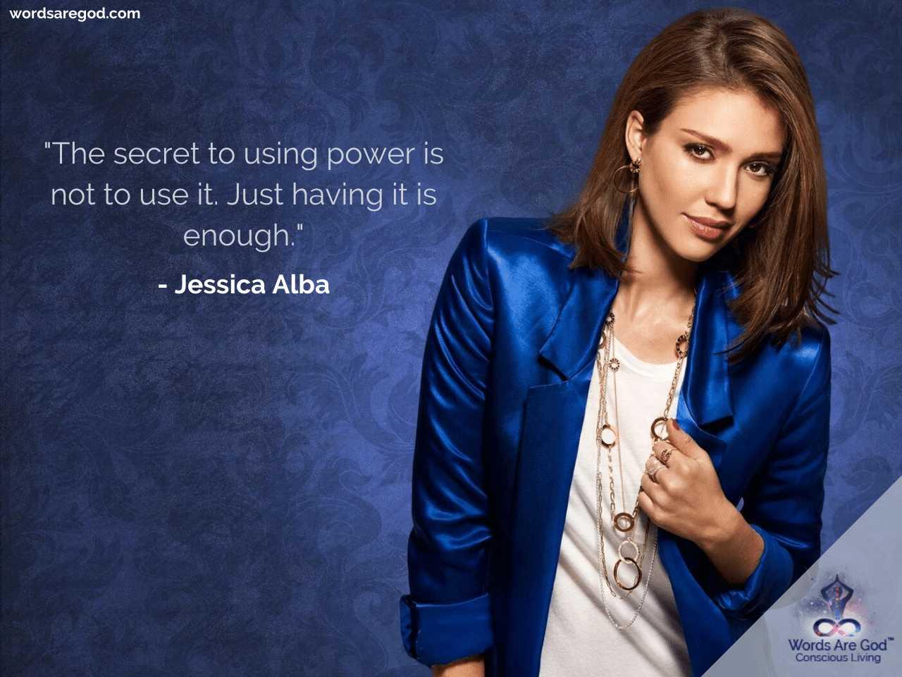 Jessica Alba Life Quotes