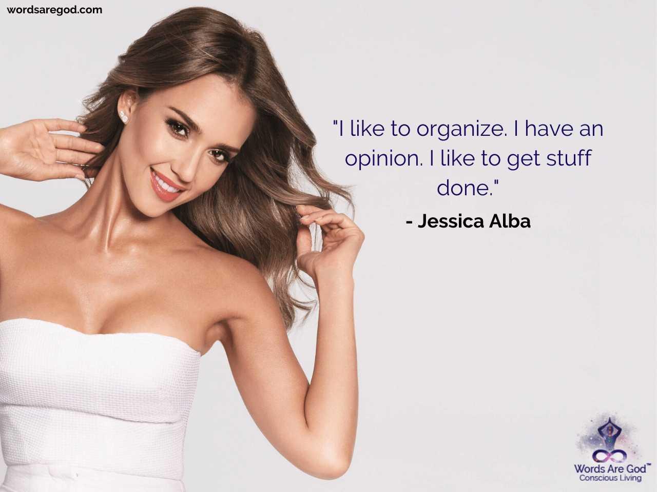 Jessica Alba Motivational Quotes