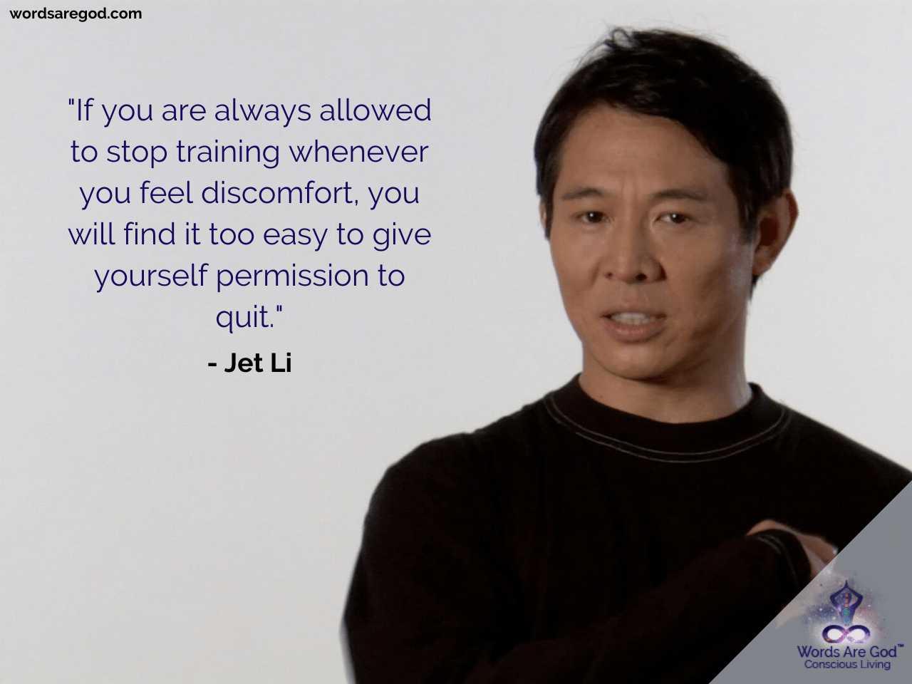 Jet Li Best Quotes