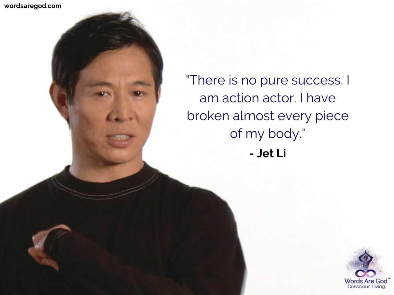 Jet Li Life Quotes
