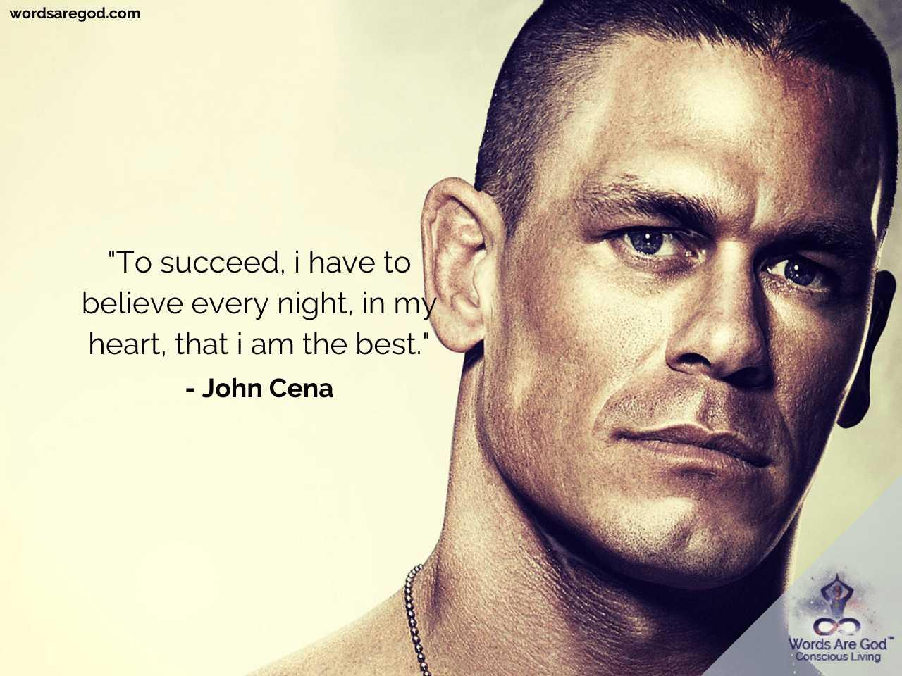 John Cena Best Quotes