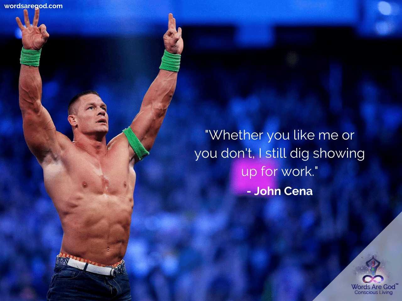 John Cena Life Quotes by John Cena