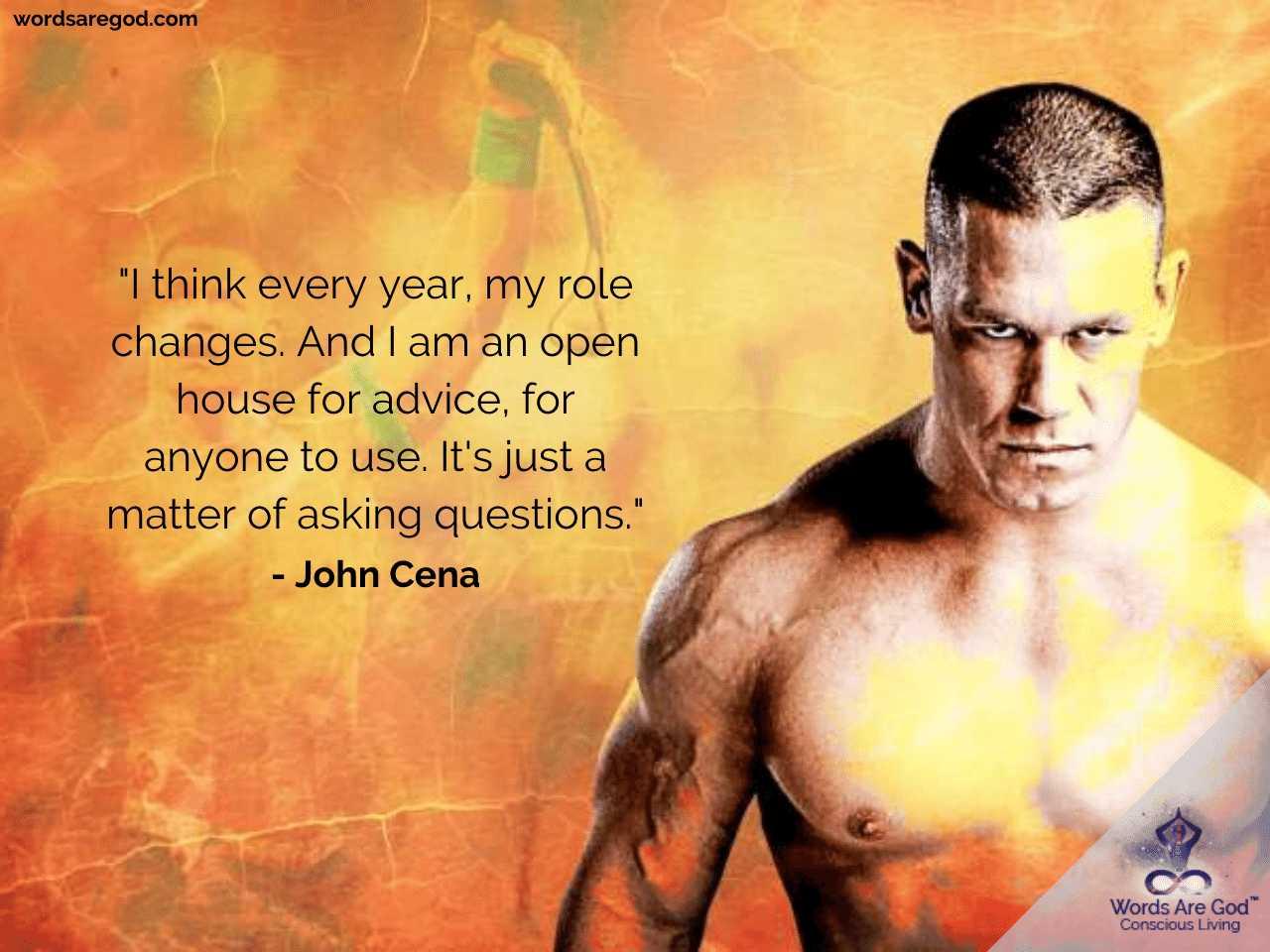 John Cena Motivational Quotes