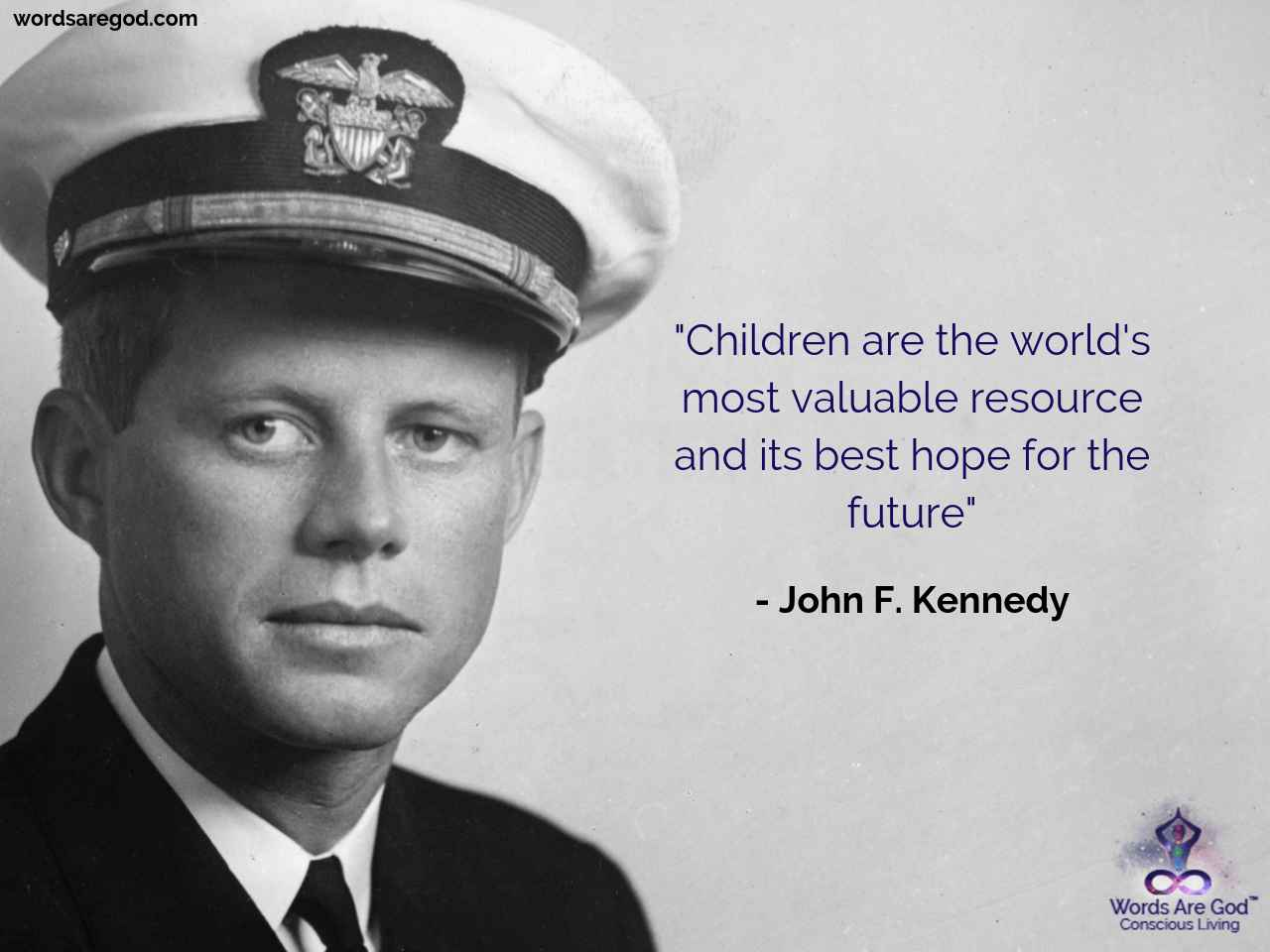 John F. Kennedy Life Quote