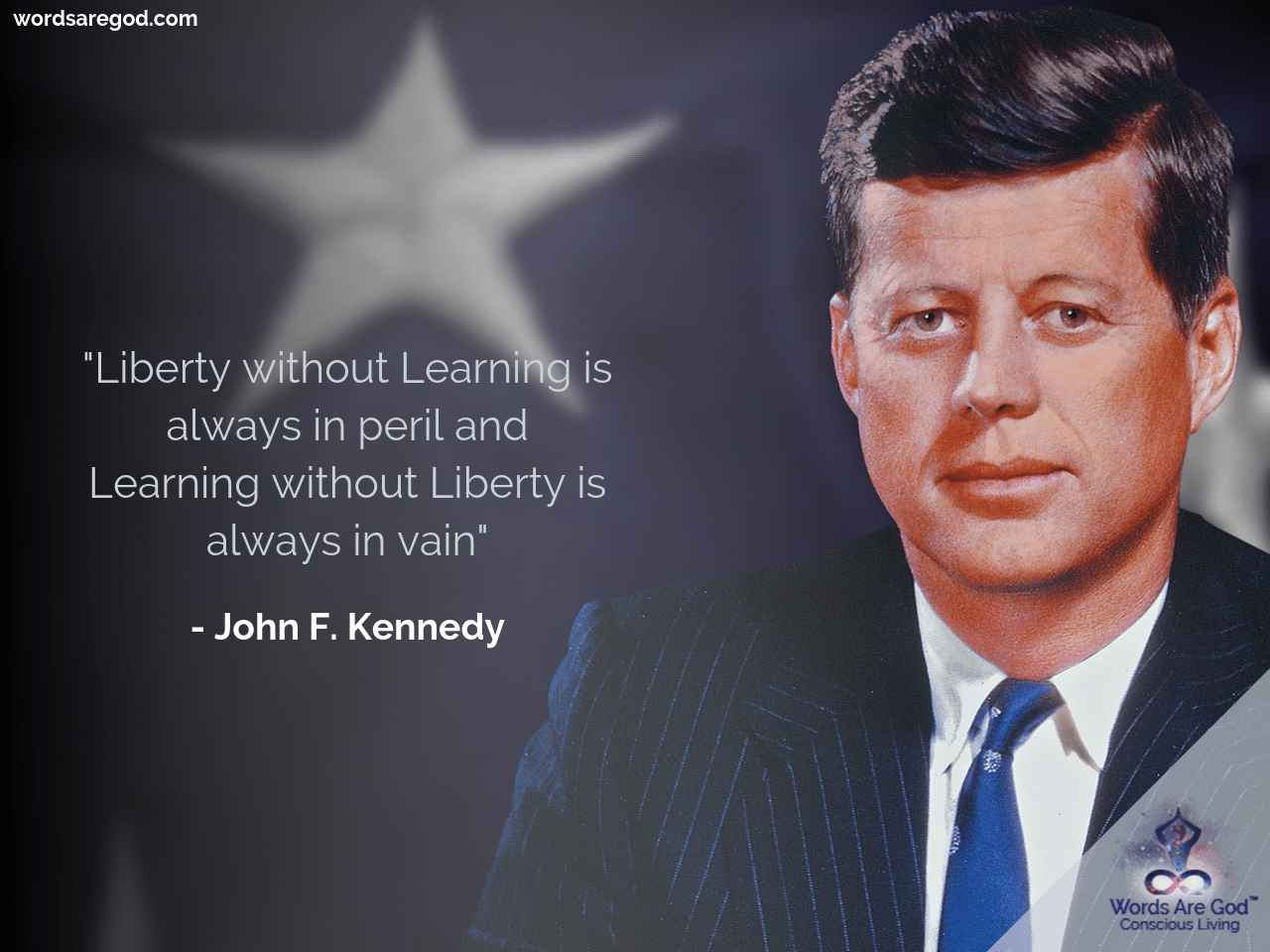 John F. Kennedy Motivational Quote