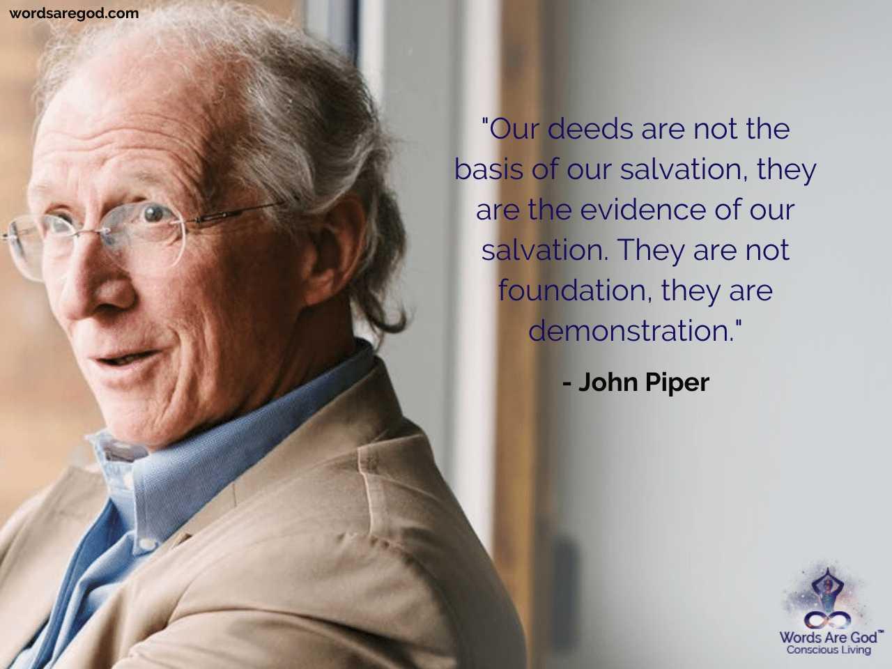 John Piper Motivational Quotes