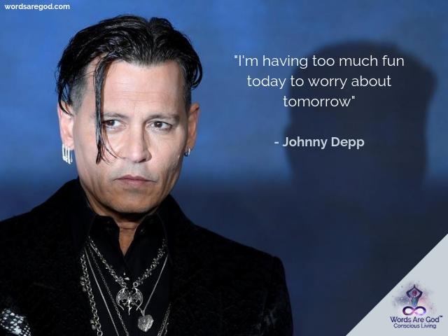 Johnny Depp Inspiration Quotes