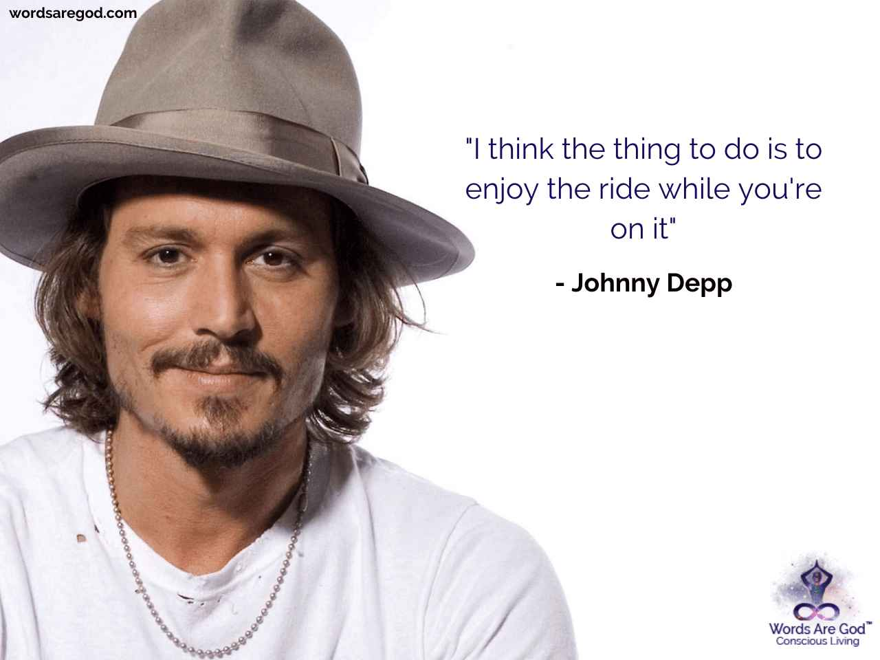 Johnny Depp Best Quote by Johnny Depp