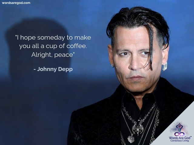 Johnny Depp Motivational Quotes by Johnny Depp