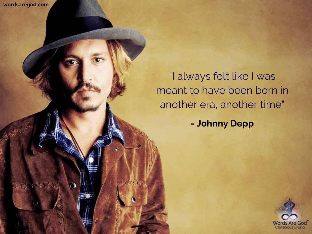 Johnny Depp Motivational Quote
