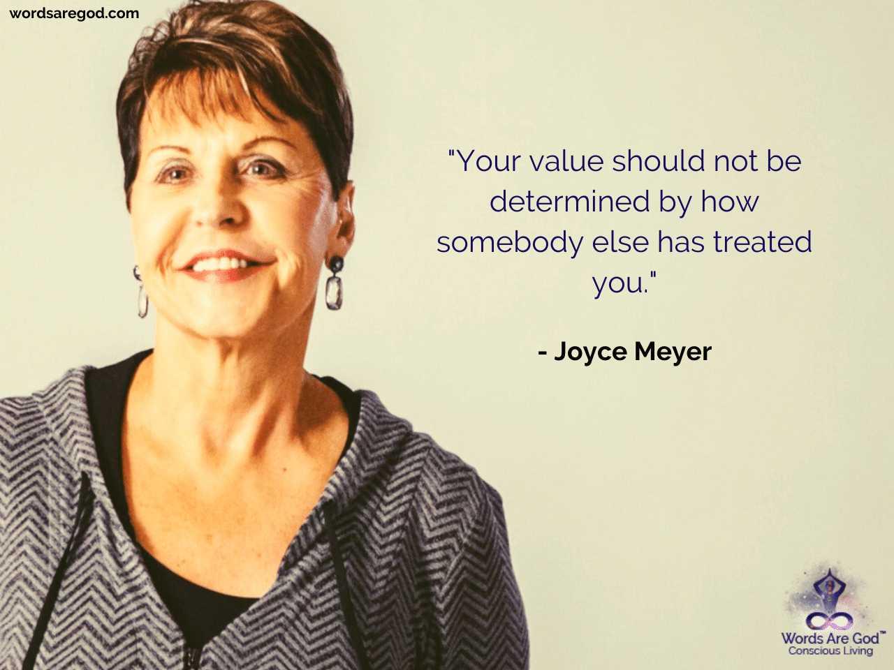 Joyce Meyer Best Quote