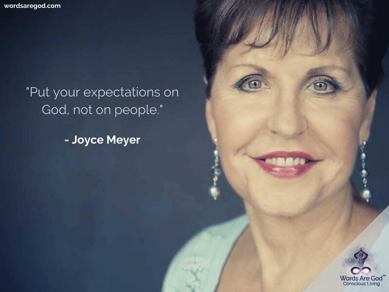 Joyce Meyer Inspirational Quote