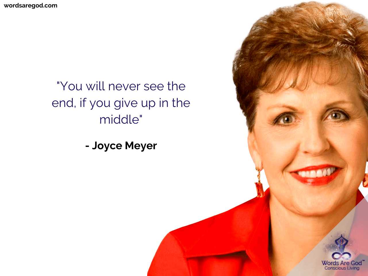 Joyce Meyer Inspirational Quote