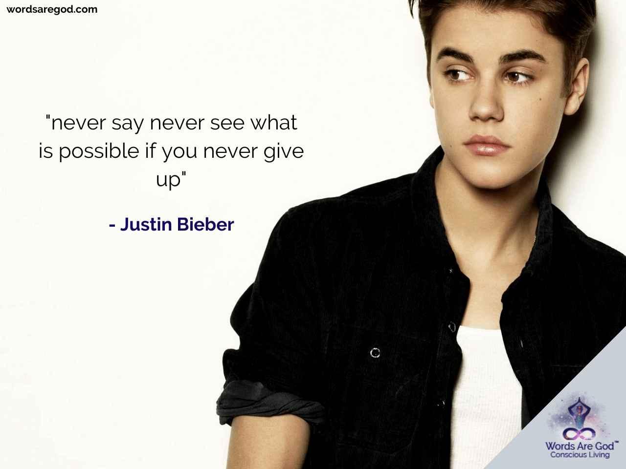 Justin Bieber music Quotes