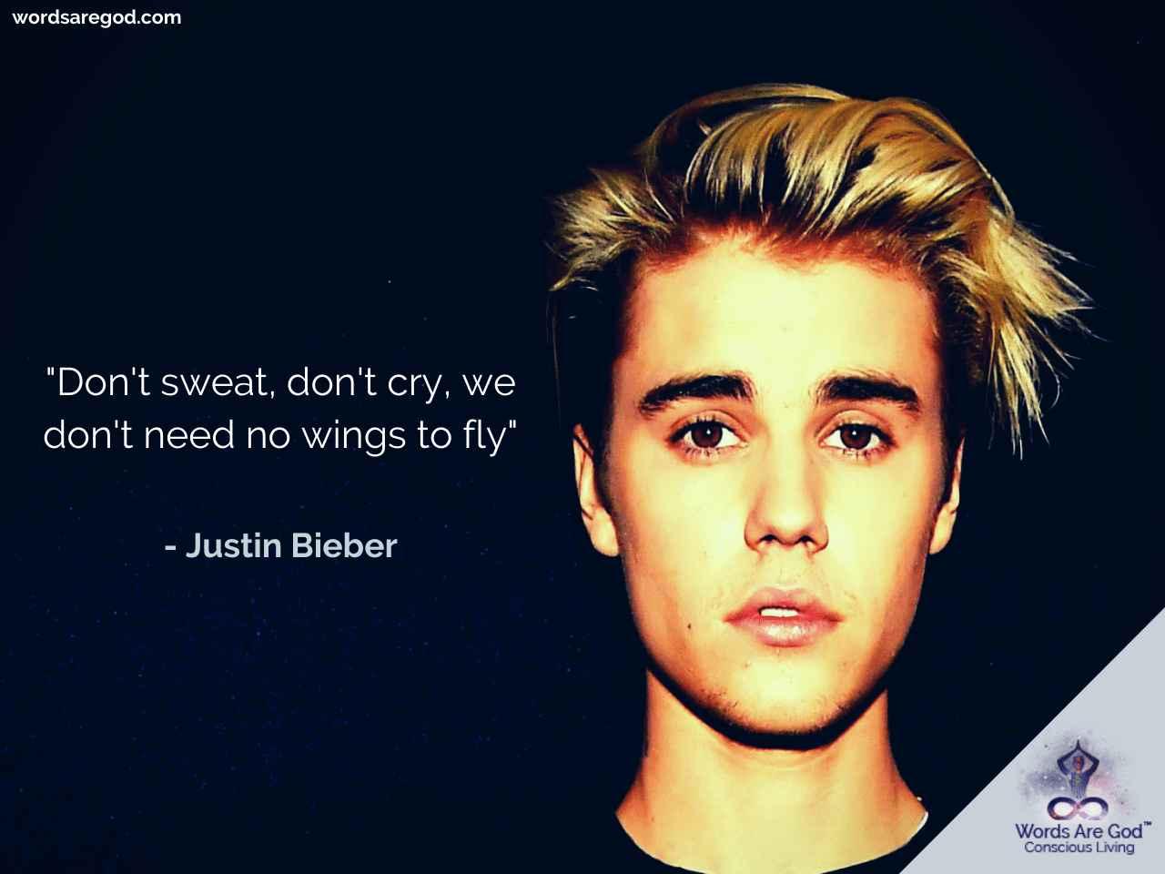 Justin Bieber Best Quotes