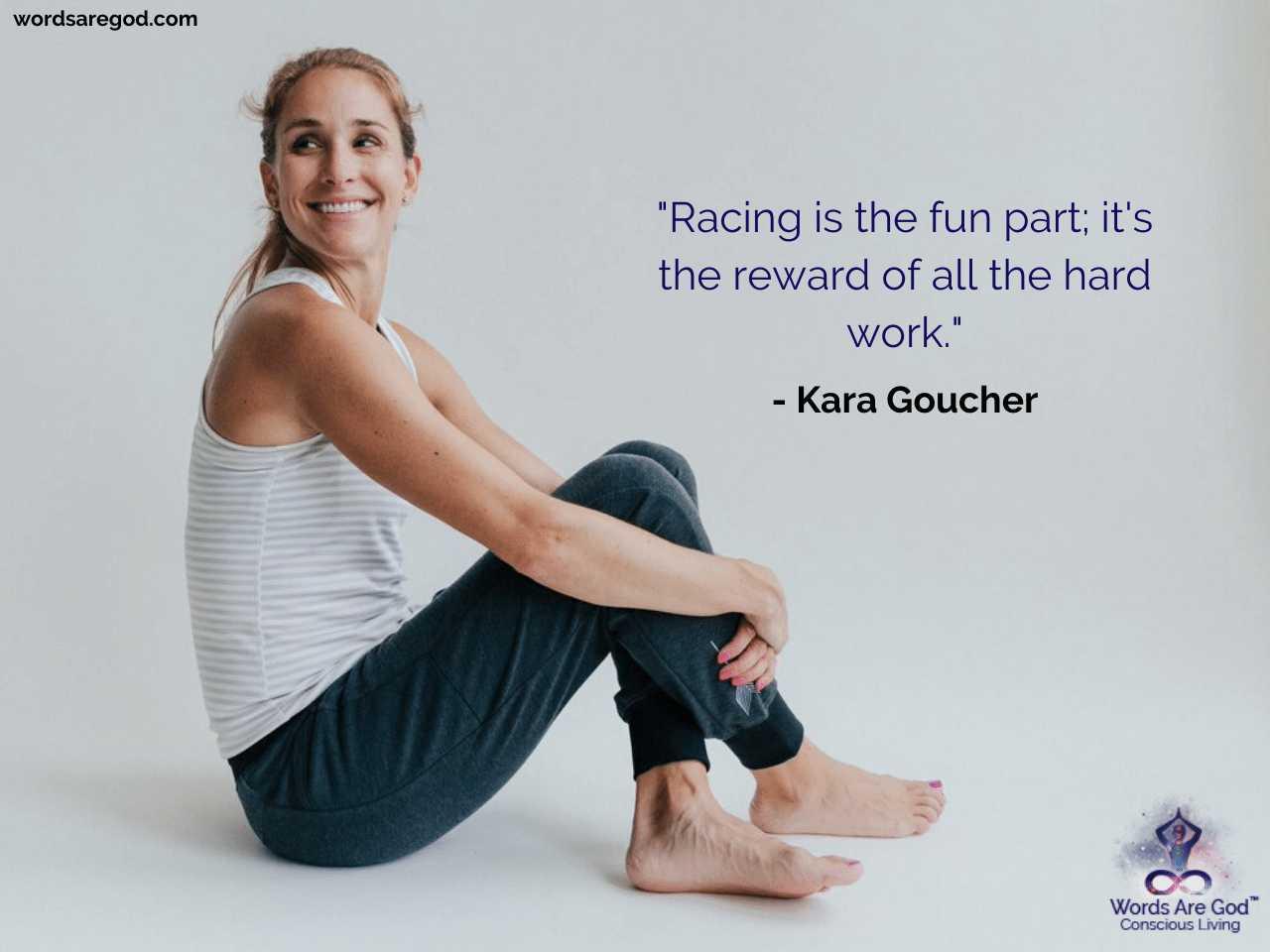 Kara Goucher Best Quotes by Kara Goucher