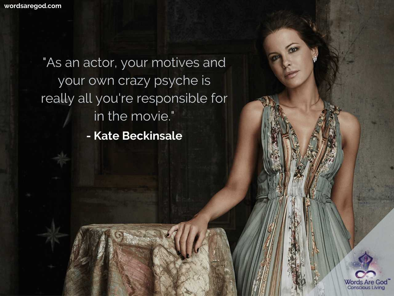 Kate Beckinsale Life Quotes by Kate Beckinsale