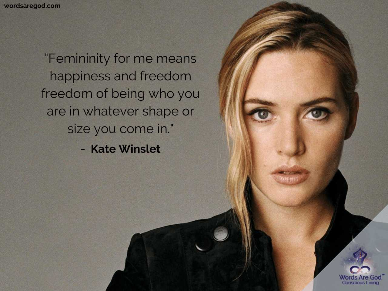 Kate Winslet Best Quotes by Kate Winslet