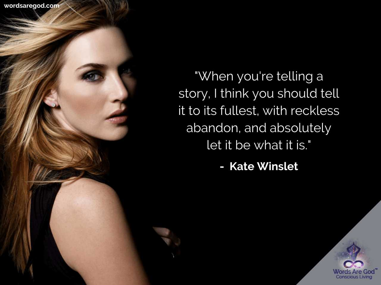 Kate Winslet Inspirational Quotes by Kate Winslet