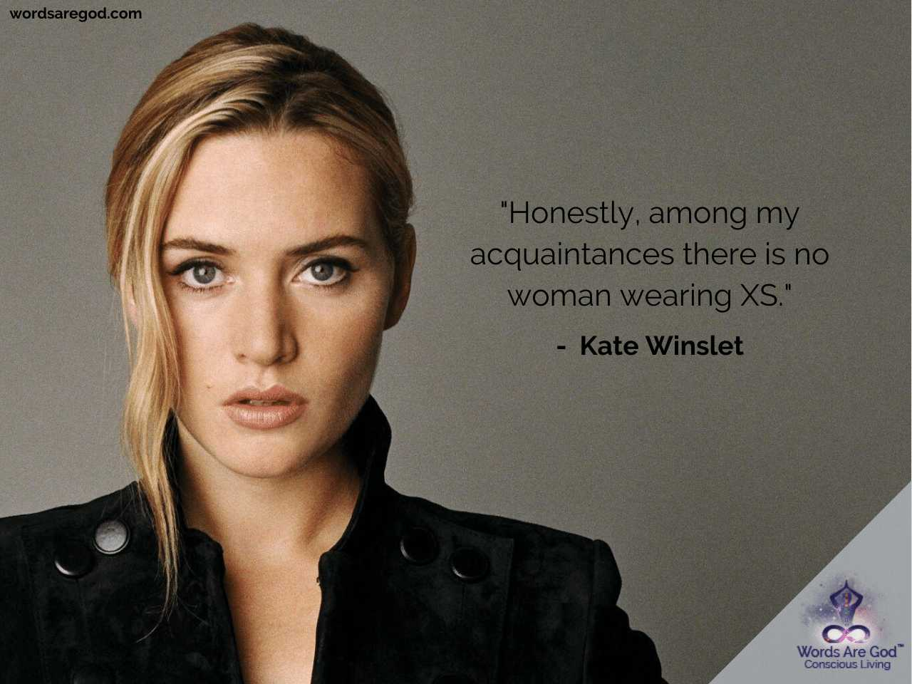 Kate Winslet Motivational Quotes