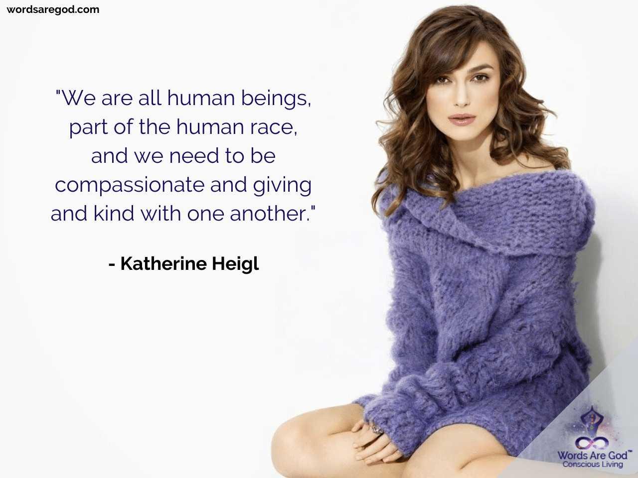 Katherine Heigl Life Quotes